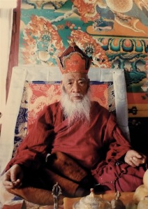 His Holiness Chatral Sangye Rinpoche